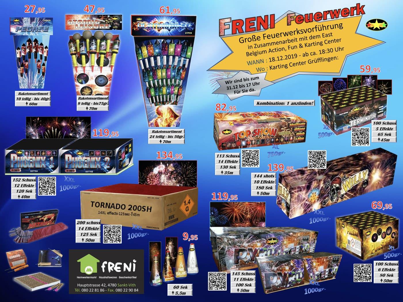 Feuerwerk Freni 1